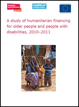 A study of humanitarian financing for older people and people living with disabilties