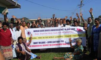 ADA for Rights campaigners in Fiji, 2012