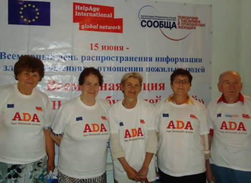 The ADA for Rights delegation in Kyrgyzstan