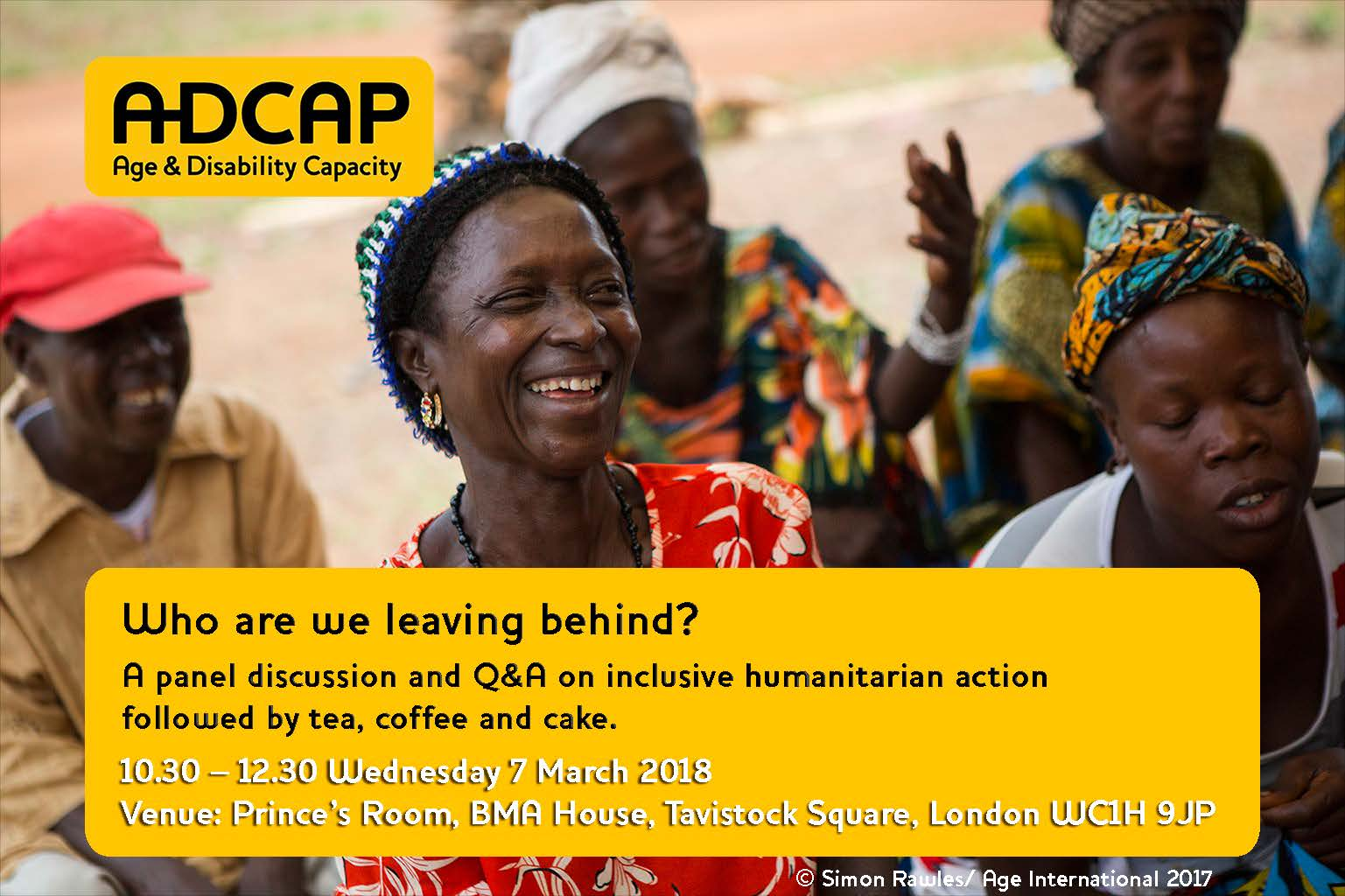 ADCAP - who are we leaving behind?