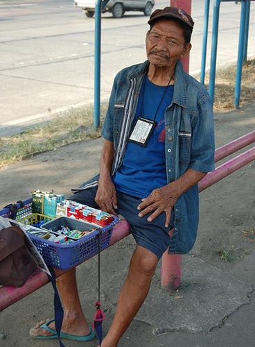 Alejandro, 71, has to keep working to afford food. A pension would make a huge difference.