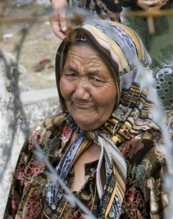 Around one million people have been affected by the violence in Kyrgyzstan.