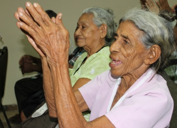 Older people in the community have rebuilt their hope and faith in life.