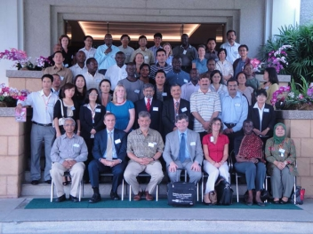Participants at the Social Transfer course organised by HelpAge in Chiang Mai