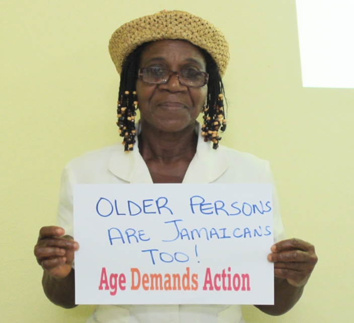 Age Demands Action activist Jamaica