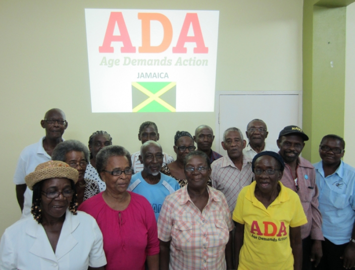 Age Demands Action planning meeting, Jamaica
