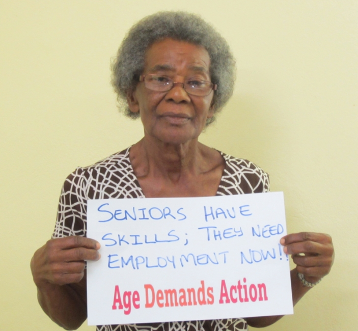 Age Demands Action activist, Jamaica