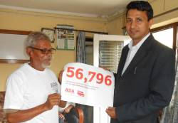 Age Demands Action petition handover in Nepal