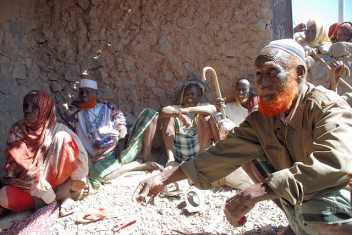 Community elders in Ethiopia hold a meeting. Photo Jeff Williams