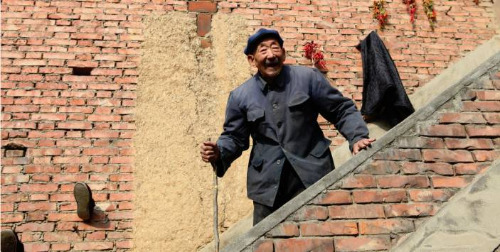 Older man in China. (c)HelpAge International