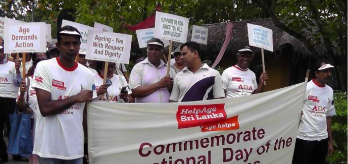 Age Demands Action campaigners in Sri Lanka (c) HelpAge International