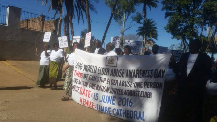 ADA campaigners marching in Malawi