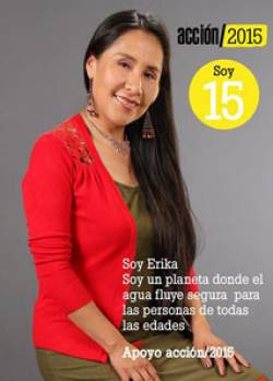 Actress Erika Andia for HelpAge International Bolivia