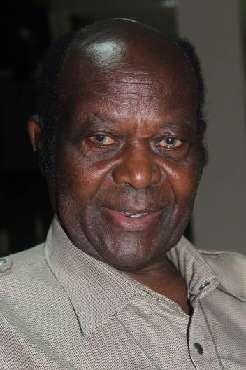 Mzee Clement Kwezi, chair of SAWAKA in Tanzania