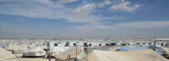 Jordan's sprawling Zaatari camp for Syrian refugees (c) Amandine Allaire/HelpAge International