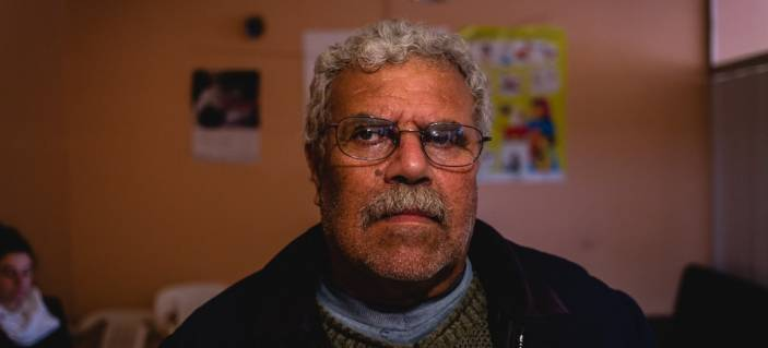 Afif, 62, in Lebanon (c) Quentin Bruno/HelpAge International