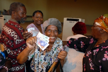 Social protection programmes put cash in the hands of people who need it so they can lift themselves out of poverty.