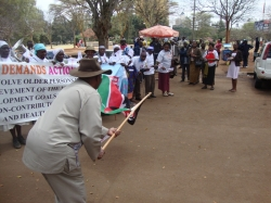 Joe Kadenge starts the march!