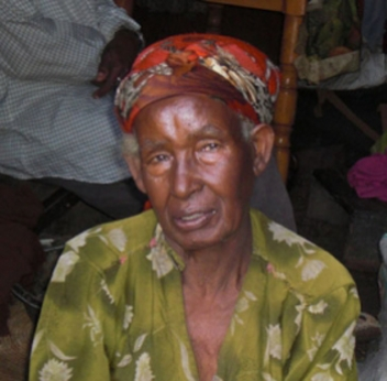 Tewabech struggles to get enough water for her three grandchildren.