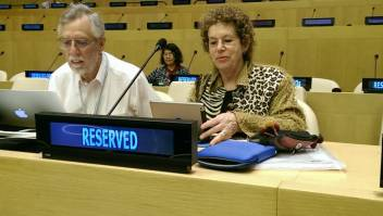 Our partner NGO Committee on Ageing speaks at the OWG
