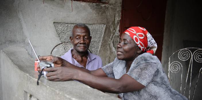 Technology is vital to tackling older people's issues (c) Frédéric Dupoux/HelpAge International