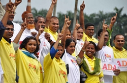 Activists in Bangladesh