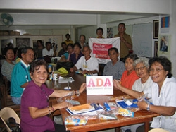 ADA campaigners in the Philippines