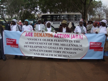 Kenyans march for Age Demands Action in 2010