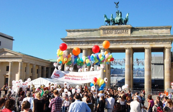 Age Demands Action campaign in Germany