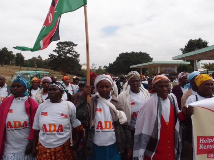 ADA march in Nairobi, 28 September 2011