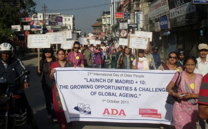 Age Demands Action in Nepal