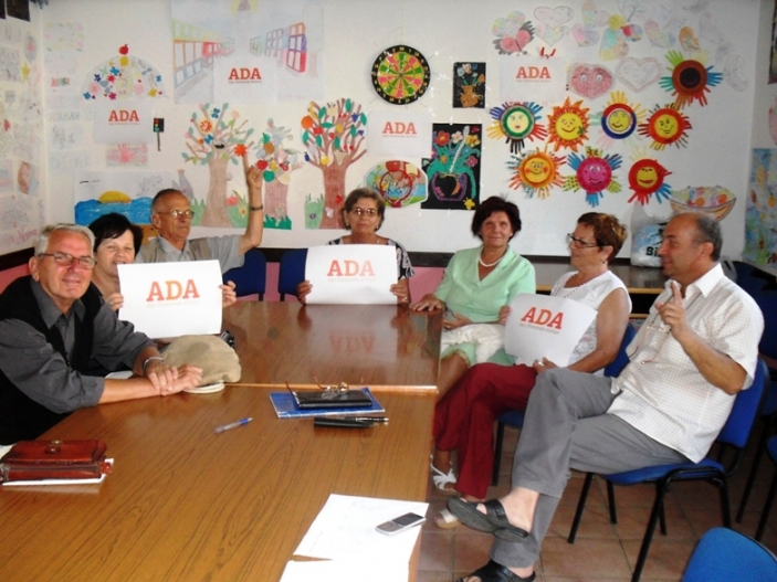 ADA campaigners in Bosnia and Herzegovina