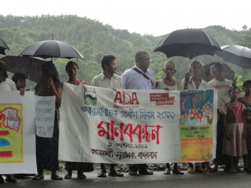 Campaigners in Bangladesh
