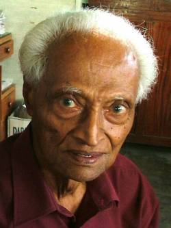 Bala Tampoe, 64 from Sri Lanka