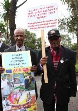 ADA activists in Ethiopia