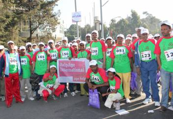 The HelpAge Great Ethiopian Run team!