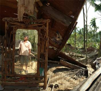 Eliseo's plantation was completely destroyed by Typhoon Bopha