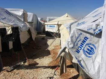 A snapshot of Zaatari camp
