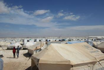 A snapshot of Zaatari camp. (c) Amandine Allaire/HelpAge International