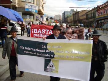 Age Demands Action for Rights in Bolivia.