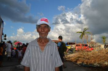 Man with Goddy's hat. (c) HelpAge International