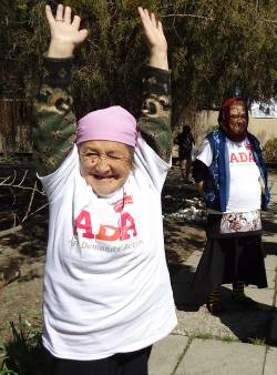 Older campaigner in Kyrgyzstan. (c) HelpAge International
