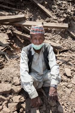 Prakash, 70, Nepal (c) Guido Dingemans/HelpAge International