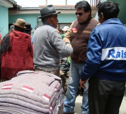 HelpAge is delivering much needed aid to older people hit by landslides in La Paz.