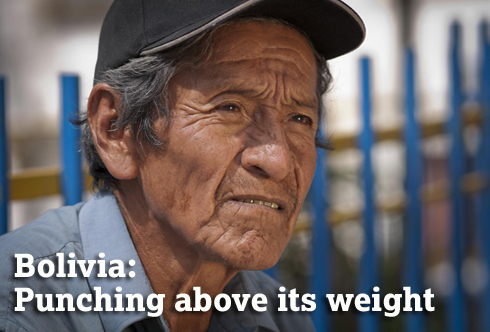 Bolivia: Punching above its weight. (c) Sebastian Ormachea/HelpAge International.