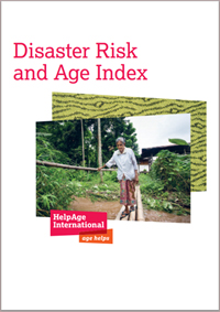 Disaster Risk and Age Index report cover.