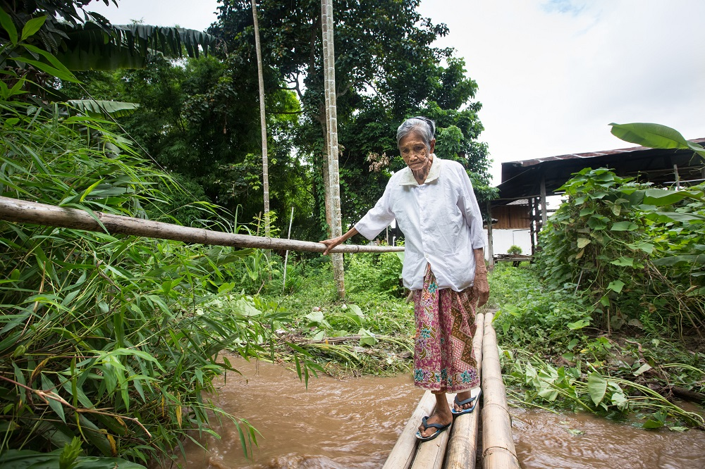 Disaster risk reduction has reduced the threat from flooing on this river in Fang, northern Thailand