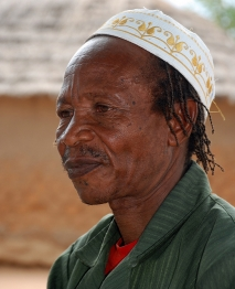 Elias is a traditional healer involved in a HelpAge project. He doesn't name witches anymore.