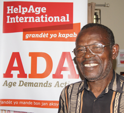 Jean Charles, 69, Haiti. (c) HelpAge International
