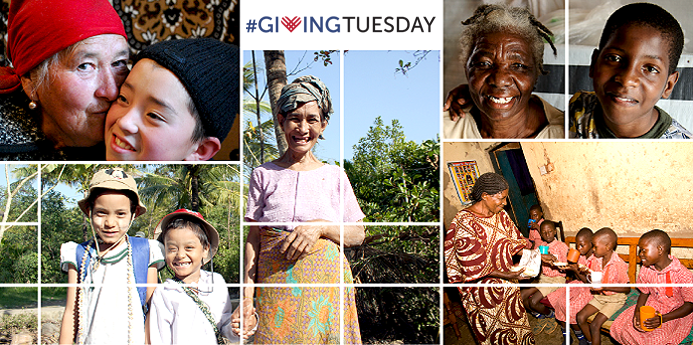 #Giving Tuesday for Older People  December 3, 2013